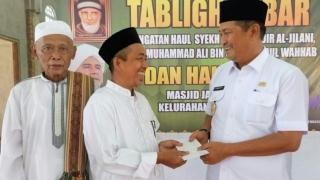Wabup Inhil Hadiri Haul Syekh Abdul Qodir Jailani