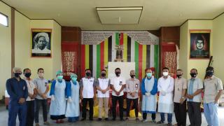 121 Orang Penyeleggara Pilkada Rohul Kecamatan Kepenuhan Sukses Laksanakan Rapid Test