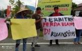 Kawal Putusan Pengadilan Pejuang Ulayat, Pemuda Siberakun Gelar Aksi Damai