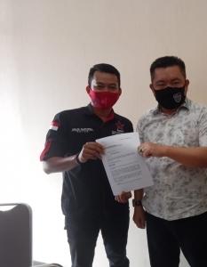 Repdem Laporkan Eks Wabup Kampar Ibrahim Ali Ke Mapolda Riau