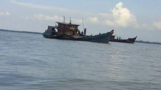 Lanal Dumai Tangkap Kapal Pengangkut Pasir Ilegal
