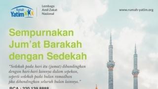 Sempurnakan Jum'at Barakah dengan Sedekah