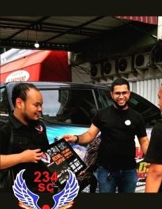 Pengurus 234 SC Kampar Explore Indonesia Disambut Ketua Korwil 234 SC Sumsel