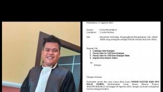 Pengukuhan Niniok Datuak Rajo Duo Balai Abdul Malik Menuak Polemim