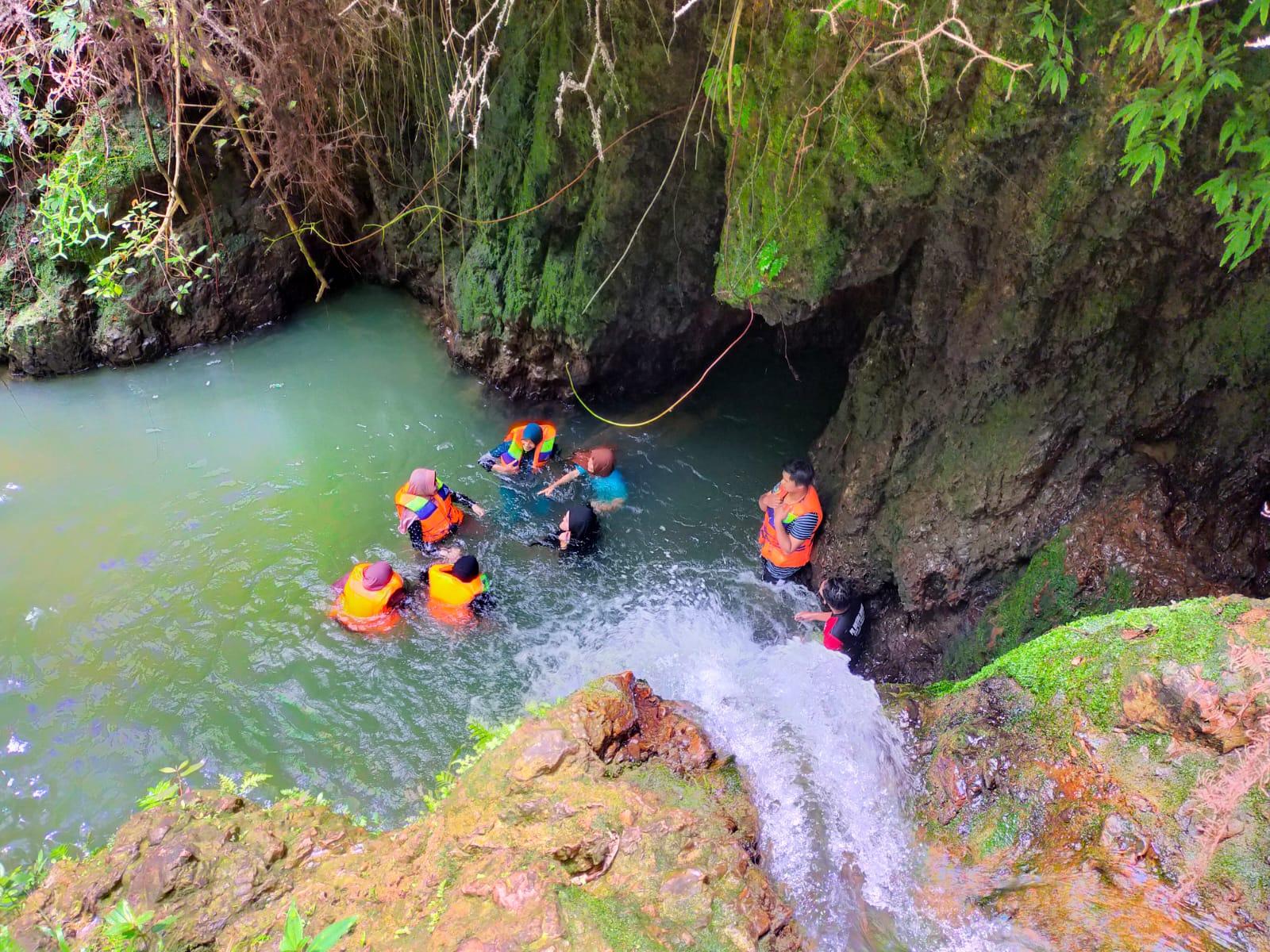 Pemuda Desa Koto Masjid Wujudkan Wisata Air Terjun Sungai Gagak Dalam Kurun Waktu 2 Tahun